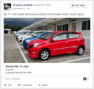 contoh iklan produk mobil