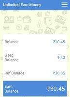 unlimited earn money app Earnings