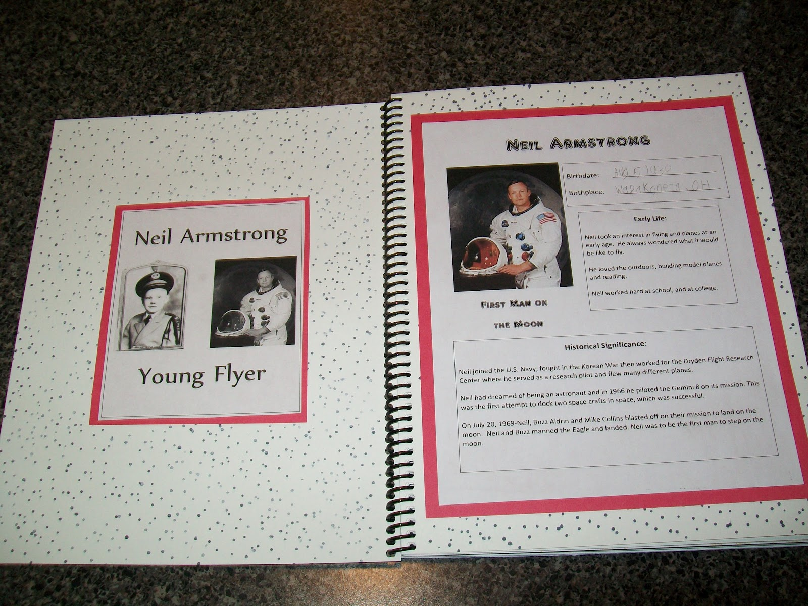 neil armstrong lapbook - photo #9