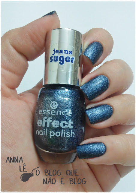 esmalte nailpolish essence blue jeaned