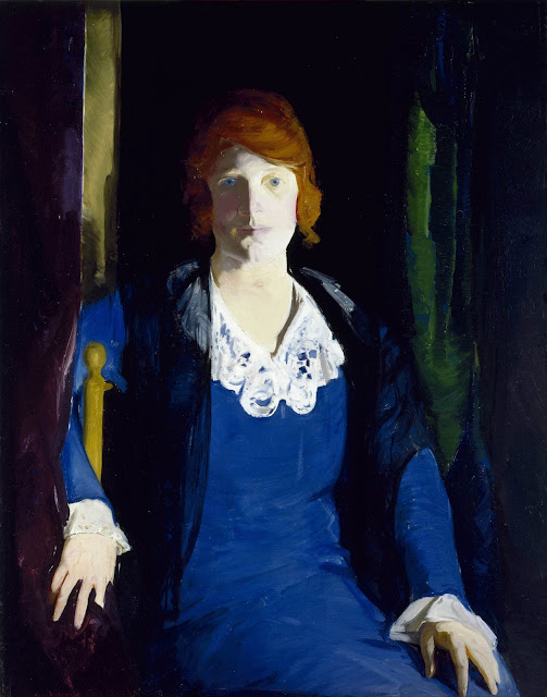 George Wesley Bellows - Портрет Флоренции Пирс