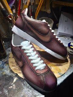 sneaker patina, sneaker costom, nike, nike cortez, sneakers, kicks