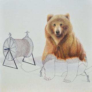 Green Pear Diaries, arte, Ricardo Solís, ilustraciones, animales