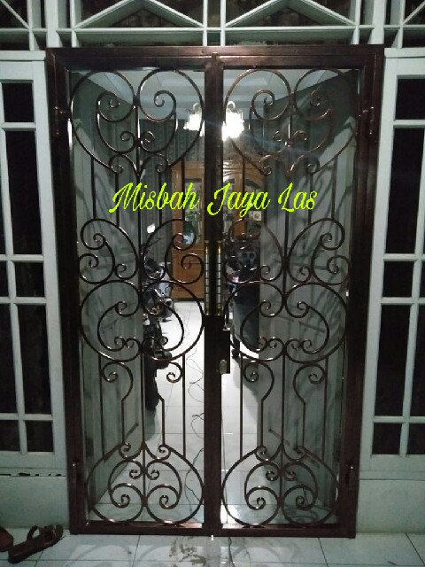 Pintu Kasanyamuk Geser Minimalis 081380001679 Misbah Jaya Las