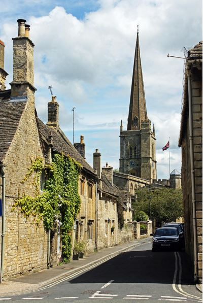 Buy wall art of Burford, Oxfordshire.