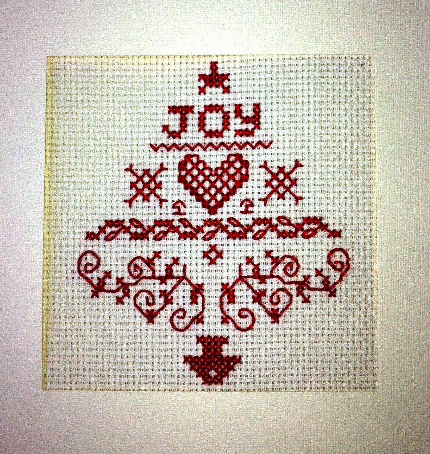 Happy F**king Cross Stitch Christmas Cards From My