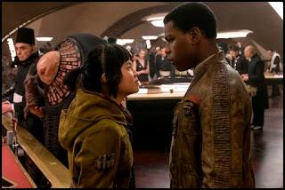Rose y Finn en Los últimos Jedi (The Last Jedi, 2017)