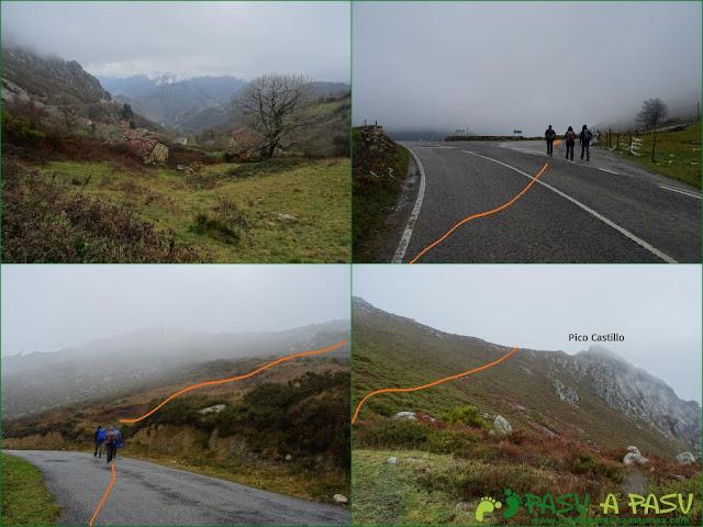 Ruta al Pico Castillo y la Rozada: De Carricedo a Collado del Muro