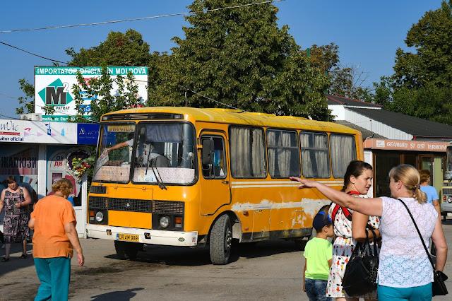 ロシア モルドバ バス ПАЗ-32051 パヴロフ・バス工場
