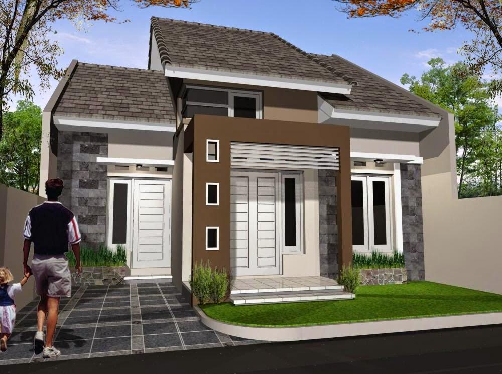 Rumah Danielle Desain rumah minimalis type 54 Terbaru