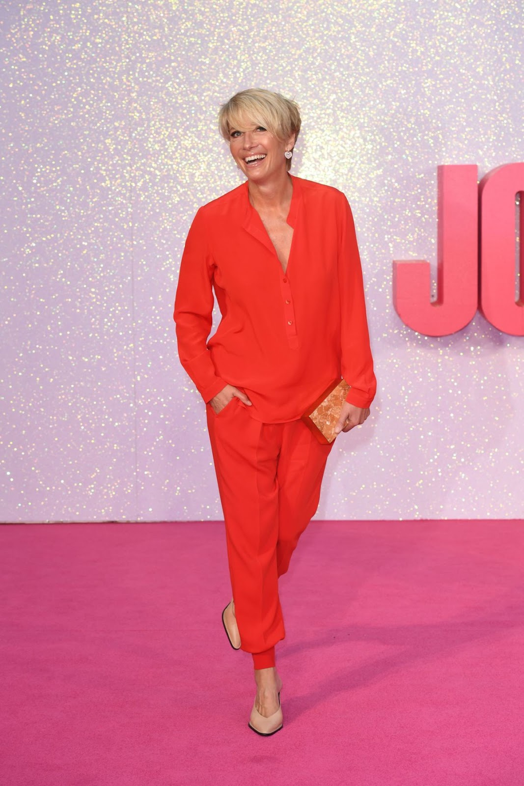 HD Photos of Emma Thompson At Bridget Jones Baby Premiere In London