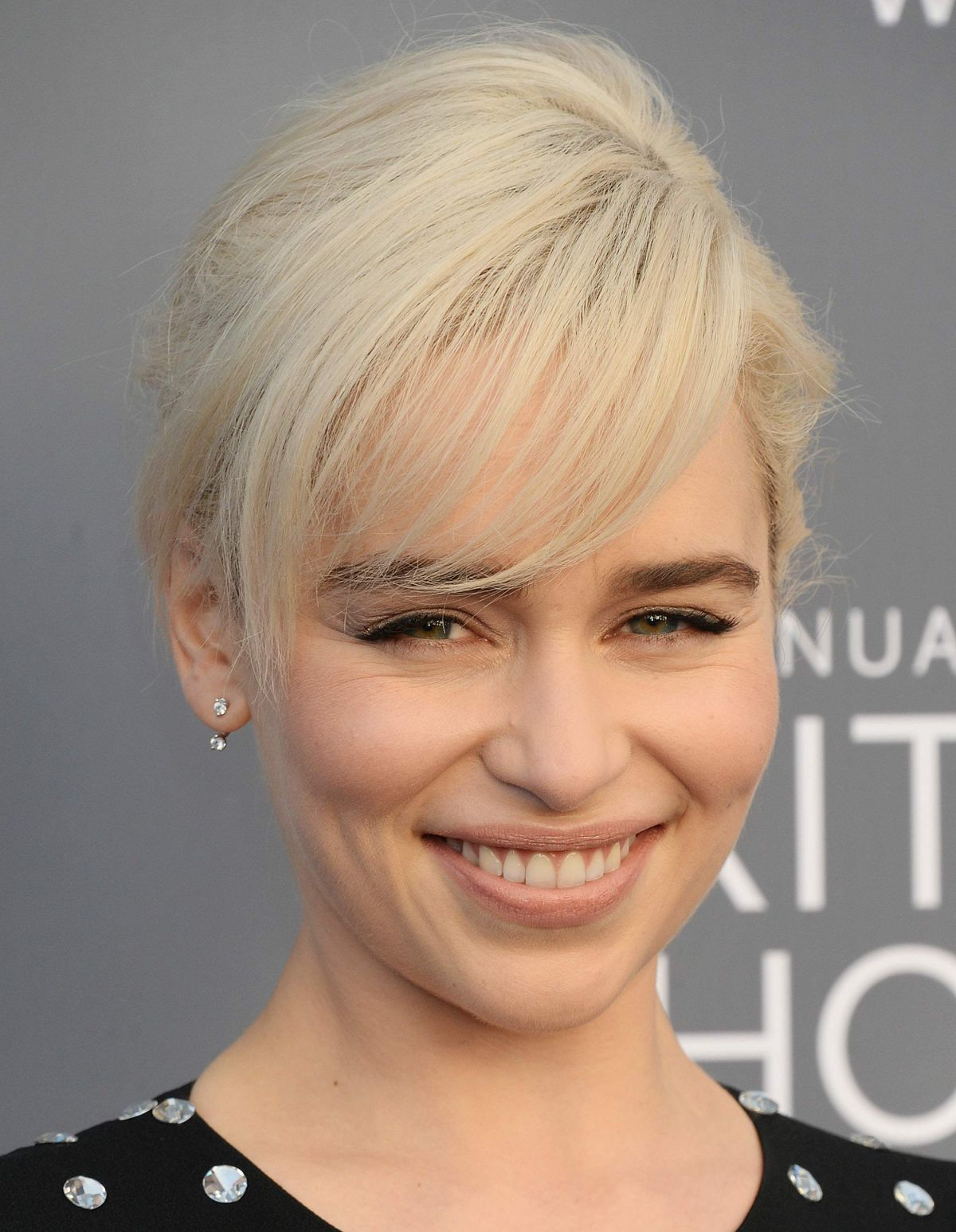 Emilia Clarke At 2018 Critics Choice Awards In Santa Monica