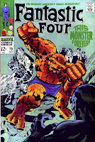 Fantastic Four v1 #79 marvel 1960s silver age comic book cover art by Jack Kirby
