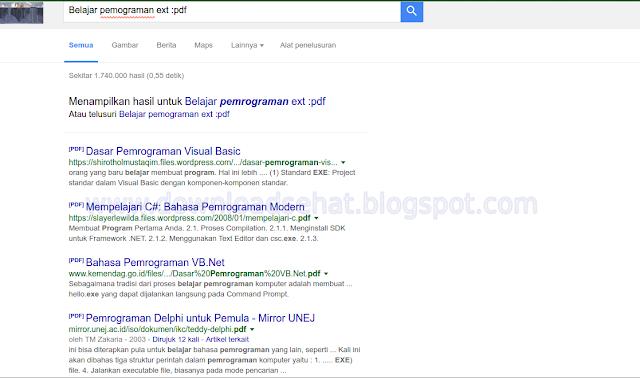 Cara Mencari File Secara Mudah di Google
