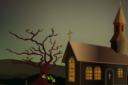 TollFreeGames Halloween Tree Escape