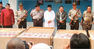 Edan! Ternyata Oknum TNI & Polri Beking Jagal Sadis Dimas Kanjeng
