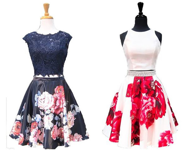 Floral Homecoming Dresses from Sassy My Prom