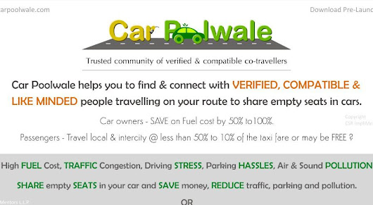 WHY CarPoolwale is Trusted Community of Verified & Compatible Co-travellers?