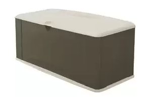 Rubbermaid 5E39 Extra Large Deck Box with Seat, Plastic garden Storage Box, Garden Storage Box, Garden Storage Boxes, Plastic Storage Boxes, Garden Boxes, Plastic Deck Storage Container Box, Keter, Suncast, Rubbermaid, Deck Boxes, Plastic Deck Boxes,