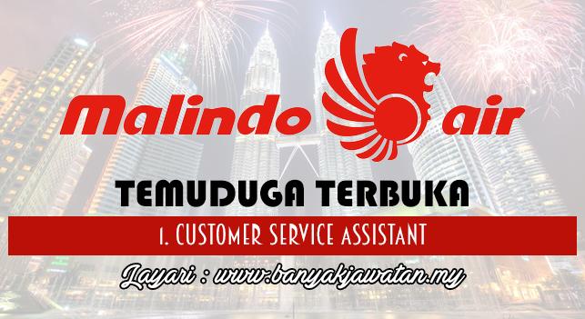 Temuduga Terbuka Terkini 2017 di Malindo Air