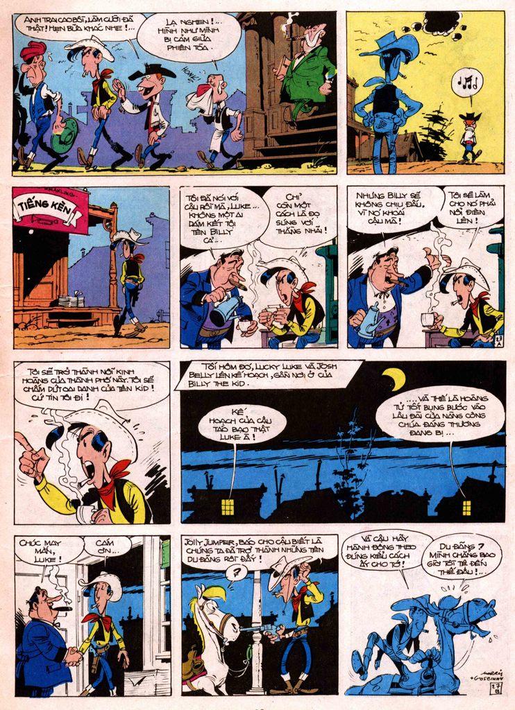 Lucky Luke tap 7 - ten billy the kid trang 27