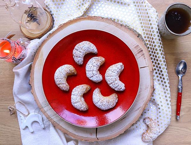 recette biscuits coissant de lune bahlsen