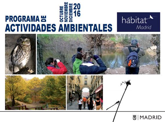Programa H Bitat Madrid Actividades Ambientales Octubre