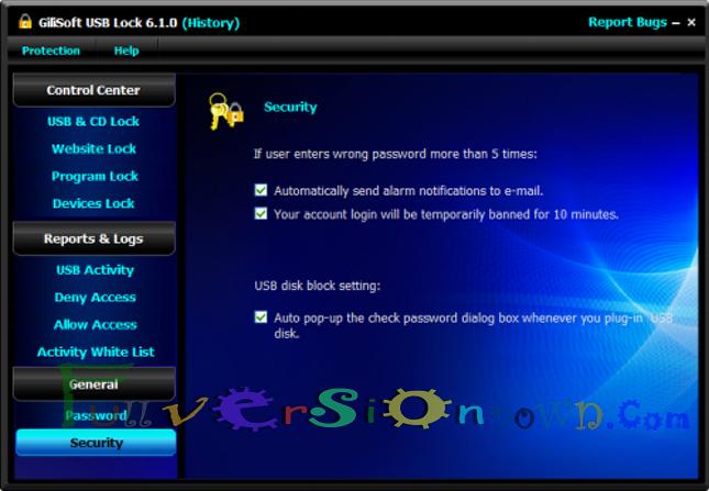 GiliSoft USB Lock Full Version