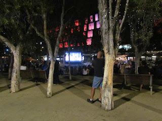 Movie night at Darling Harbor