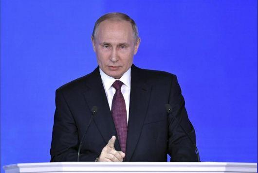 Putin tells U.S. to send evidence of vote meddling
