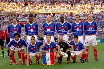 Resultado de imagen de alineacion francia 98 final