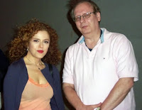 Bernadette Peters Follies Kennedy Center 2011 Rick Sincere stage door selfie