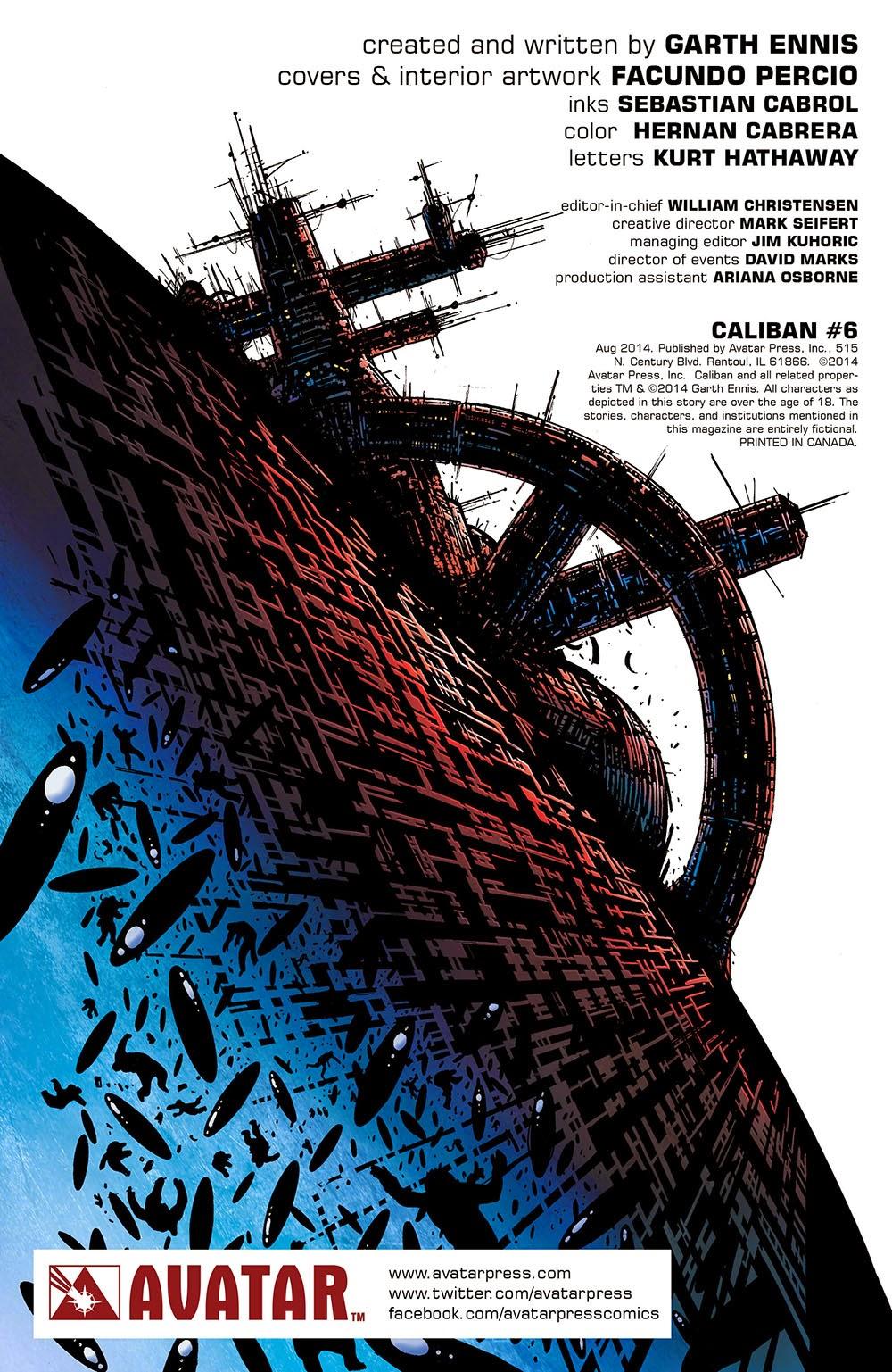 Caliban 006 (2014) …………………………… … …  | Viewcomic reading