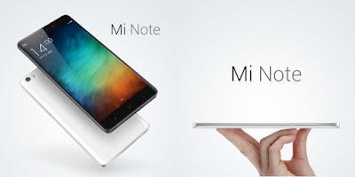 Xiaomi Mi Note Specifications - Dewa Spek