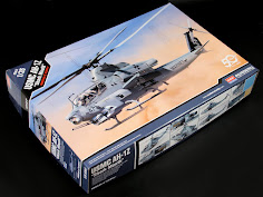 "In-Boxed: 1/35th scale USMC AH-1Z ""Shark Mouth"" from Academy"