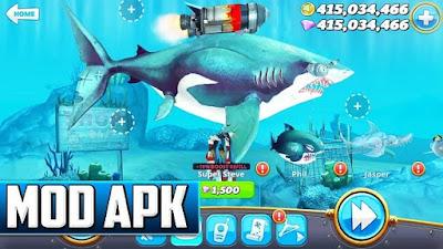 لعبة Hungry Shark World للأندرويد، لعبة Hungry Shark World مدفوعة للأندرويد