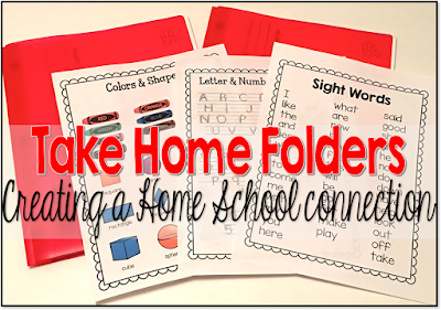 Studnet take home folders for school to home communication.  Build the communication lines between school and home early on .  Start in kindergarten with the take home communication homework folder