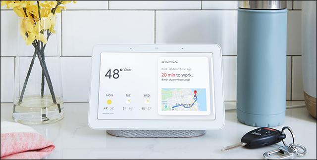 كل المنتجات التي تم الإعلان عنها فى مؤتمر Made by Google 2018 Google-Home-Hub