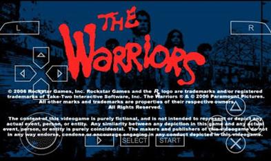 download game ppsspp the warriors ukuran kecil