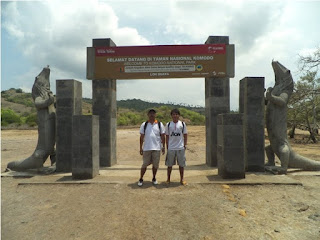 pintu gerbang pulau rinca NTT