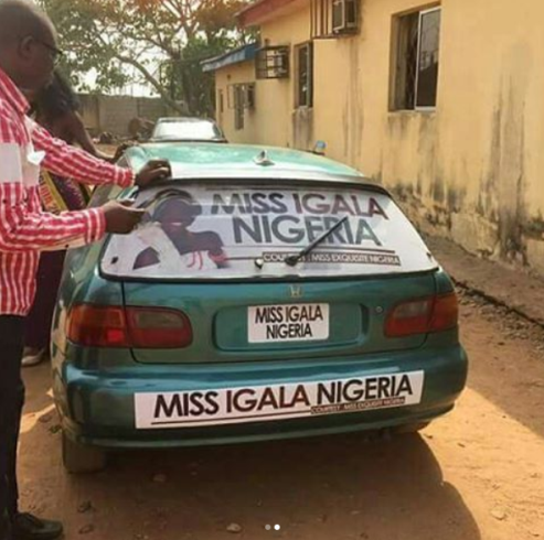 Check out the car presented to a winner of a beauty pageant in Plateau state (photos) 1
