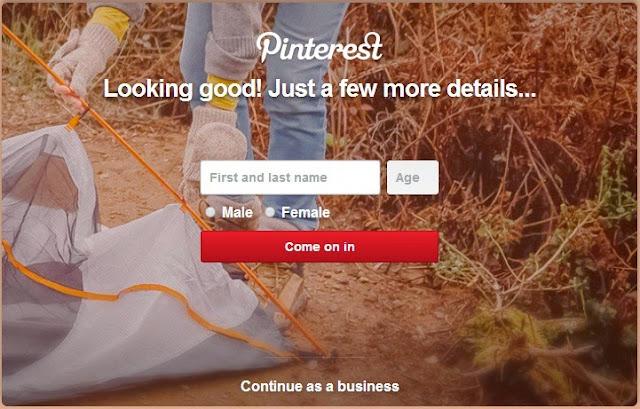 Cara Membuat Akun Pinterest