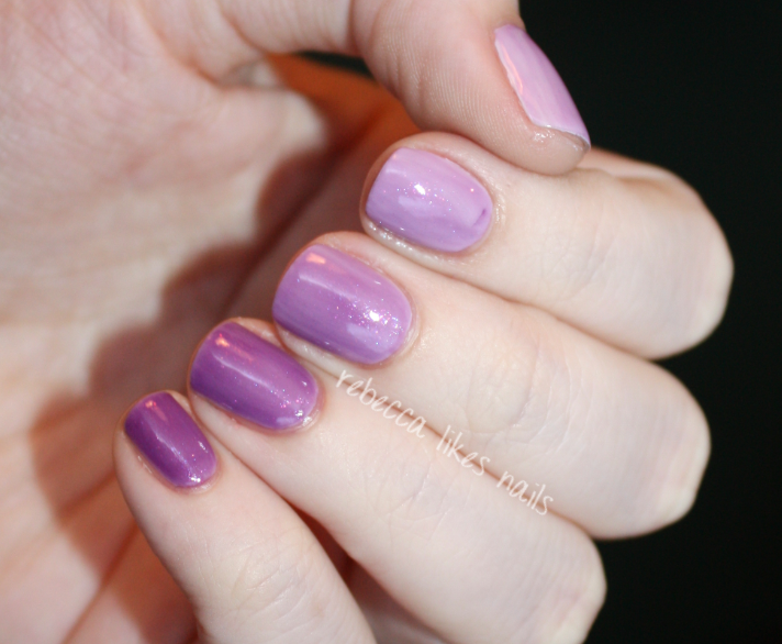 rebecca likes nails: my first ombré! with butter london jelly