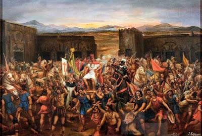 Captura de Atahualpa por parte de Francisco Pizarro