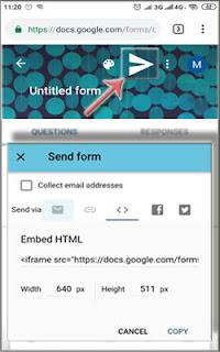 Cara Membagikan Google Formulir Di Android