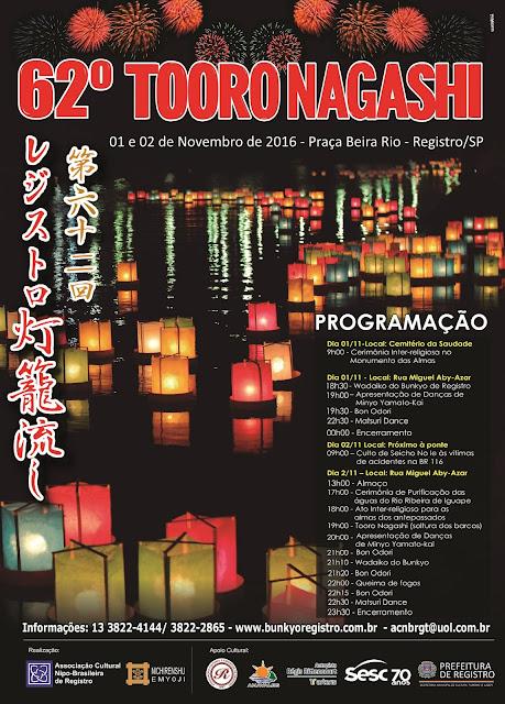 A História do Tooro Nagashi em Registro-SP