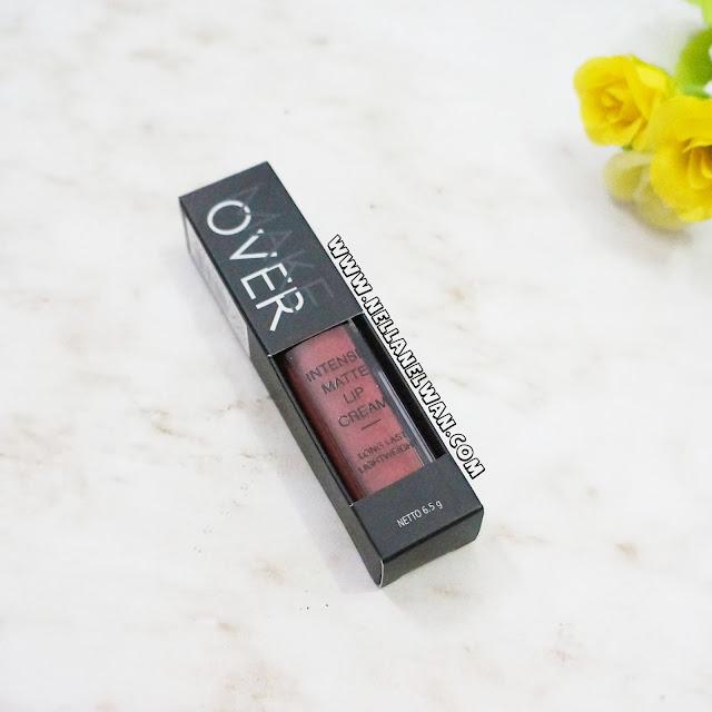 make over intense matte lip cream shade 008 libertine review nellanelwan