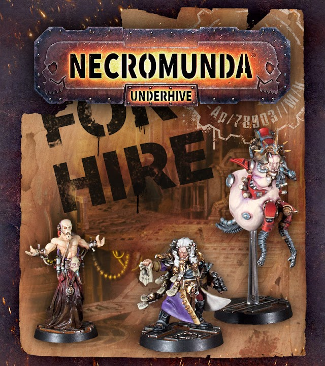 Bounty Hunters for Hire: New Necromunda + New Ready Made Boards for Adeptus Titanicus