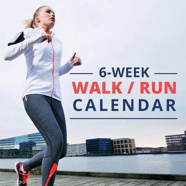 6 Week Walk/Run Calendar