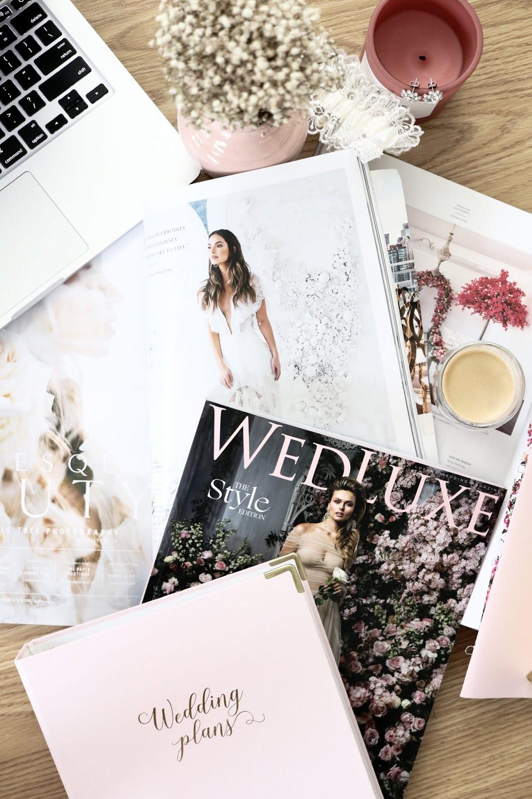 wedluxe magazine spring 2019